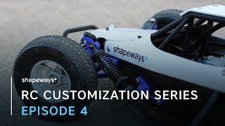 IT RUNS!!! | RC CAR CUSTOMIZATION SERIES | EP. 4 | SHAPEWAYS