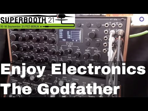 SUPERBOOTH 2021: Enjoy Electronics - The Godfather - Four Channel Audio Processo