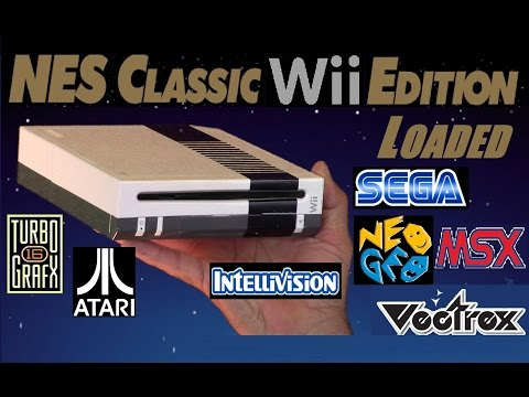 NES Classic Wii Edition with 1000's of games and emulators