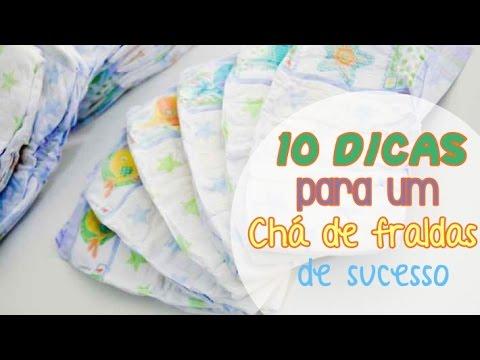 10 dicas para um chá de fraldas de sucesso