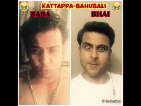 Kattappa ne Bahubali ko kyun maara Explained by Sanjay dutt and Salman Khan !! N its Funny!!!