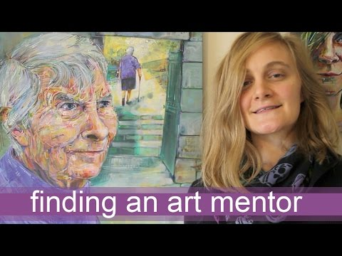 How to find an art mentor