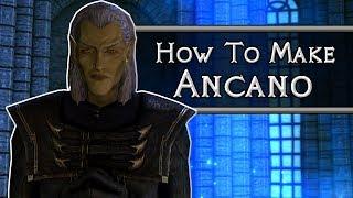 Skyrim: How To Mąke Ancano