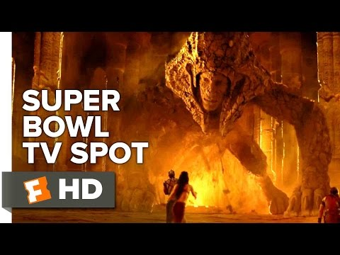 "Gods of Egypt Official ""War"" Super Bowl TV Spot (2016) - Brenton Thwaites, Gerard Butler Movie HD"