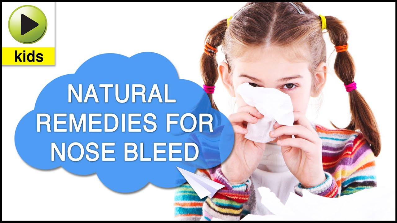 Why Do Kids Get Nose Bleeds