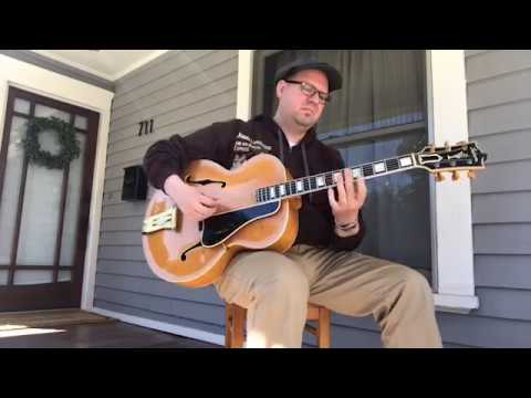 Jonathan Stout - Front Porch Practice Session - 1939 Gibson L-5