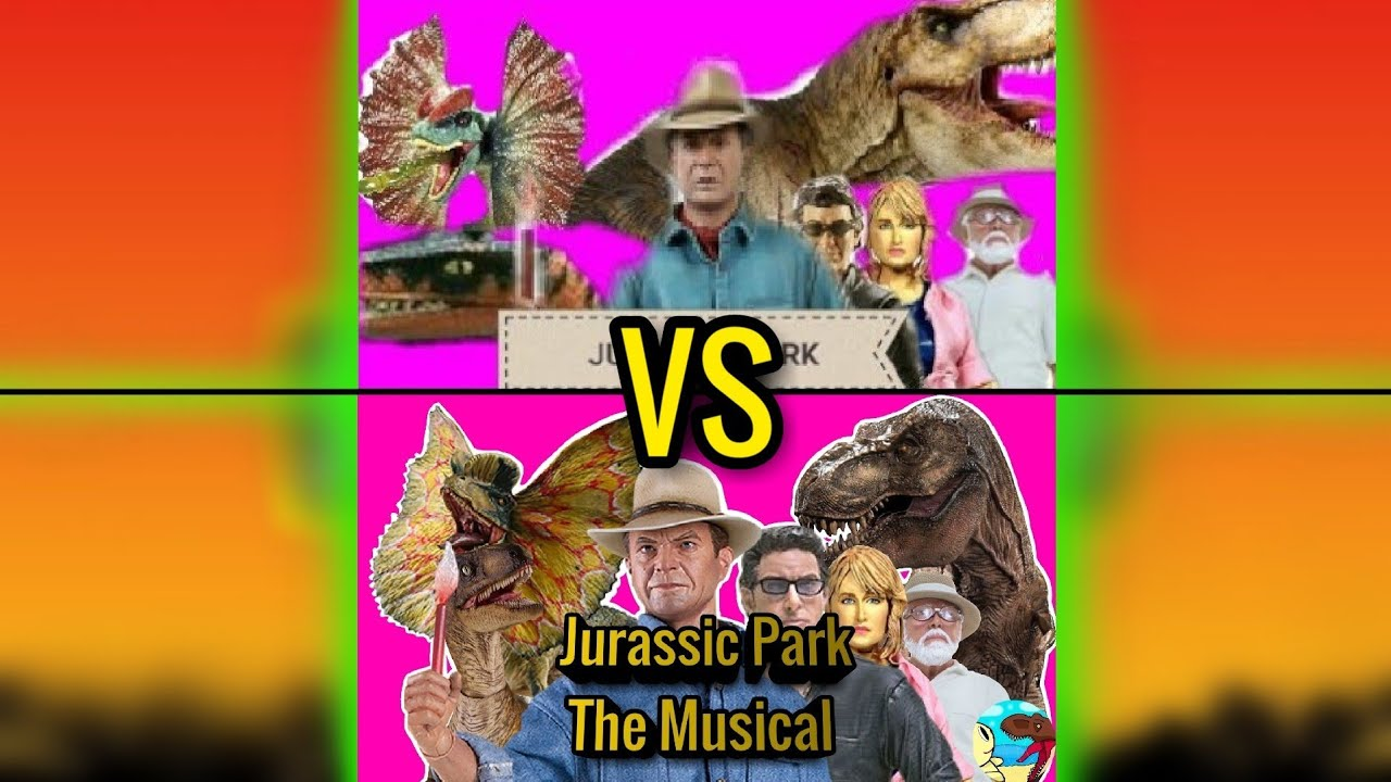 LHUGUENY Jurassic Park The Musical Remasterized Comparasion 2019 vs 2020