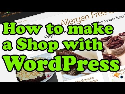 How to make an ONLINE SHOP with WORDPRESS, WOOCOMMERCE and X Theme