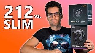 Dark Rock Slim vs. Hyper 212 Black | CPU Cooler Showdown thumbnail
