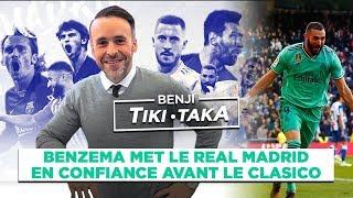 VIDEO: Benji Tiki-Taka : Benzema met le Real Madrid en confiance avant le Clasico