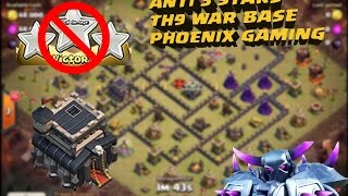 """5. Clash of clans ♥ Top th9 war base ♥  anti 3 star """"SPEED BUILD"""" + REPLAYS ♥  CoC"""