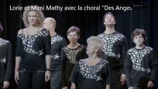 Mimie Mathy et Lorie (Chorale des Anges)
