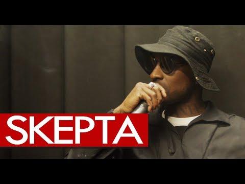 Skepta exclusive catch up backstage after Wireless headline show