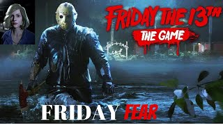 Friday the 13th: The Game | Friday Fear | PS4 Pro Gameplay 1080p 60 fps