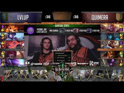 LevelUp Soho Vs Quimera e-sport - Partida 2 - 2ª Temporada - Jornada 7
