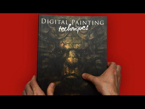 flip-through---digital-painting-techniques---volume-2
