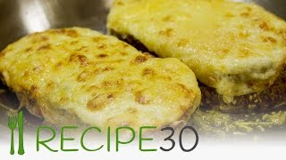 Croque Monsieur French cheese and ham recipe
