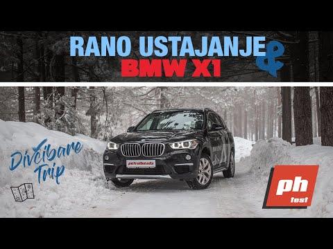 KO RANO RANI X1 GRABI! - BMW X1 18d xDrive