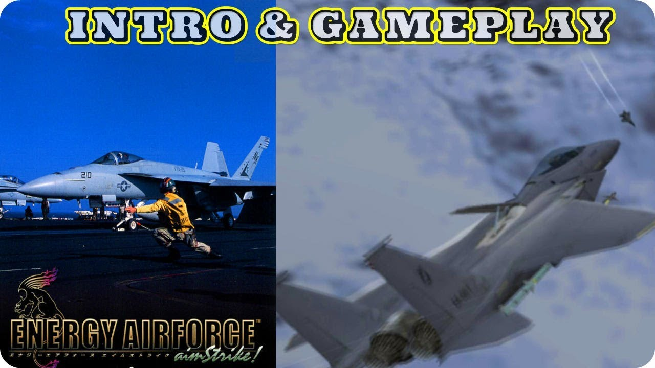 Energy Airforce Aim Strike! - INTRO + GAMEPLAY | PS2 Gameplay HD |