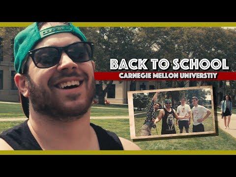 Matt Goes To Carnegie Mellon University
