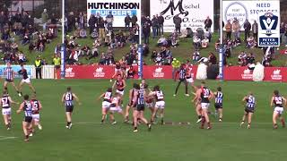 Elim  Final Collingwood vs Essendon VFL highlights 2018