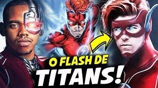 CONHEÇA O FLASH DE  TITANS!    TITANS 2° TEMPORADA
