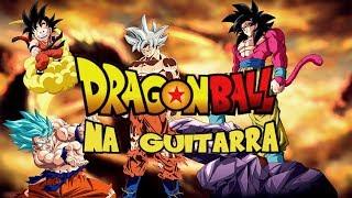 Dragon Ball Guitar Medley - All Opening Songs