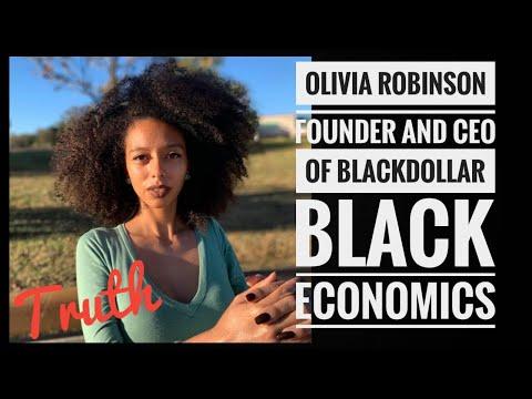 Built For Black Owned Businesses, Black Dollar App, Olivia Robinson Inventor