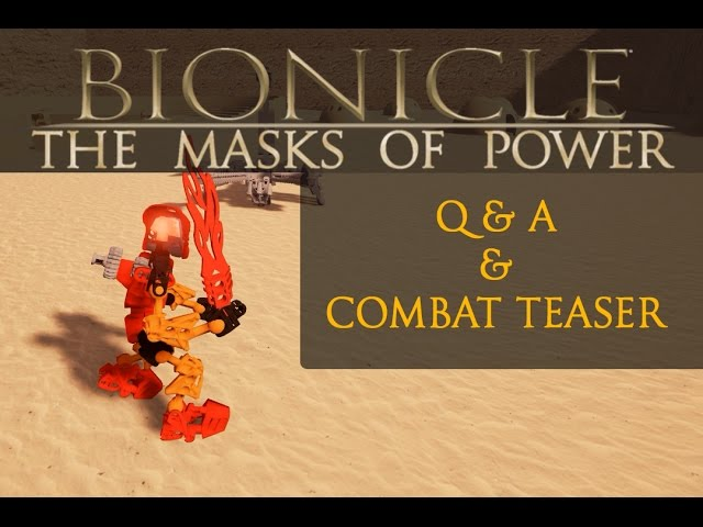 Bionicle: The Masks Of Power =Q&A & Combat Teaser=