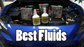 The Best Fluids For Your BRZ FRS or 86