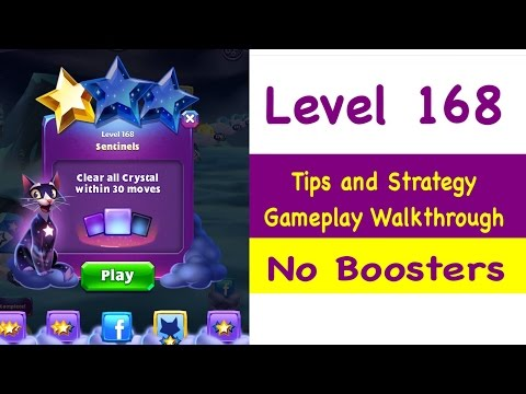 Bejeweled Stars Level 168 Tips and Strategy Gameplay Walkthrough No Boosters