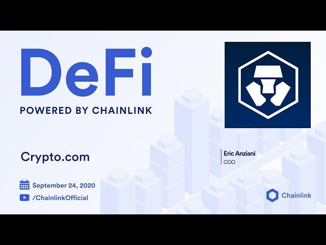 Crypto.com and Chainlink Live Q&A: Building CeFi into DeFi through Decentralized Oracles