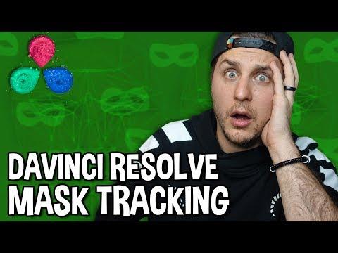 DaVinci Resolve Tutorial - Mask Tracking