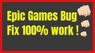 Epic Games Launcher Black Screen Fix