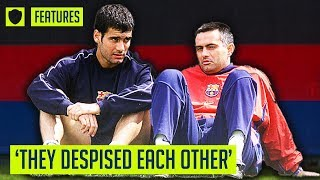 GUARDIOLA & MOURINHO - FROM CLOSE FRIENDS TO BITTER RIVALS