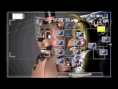 Мишка Фредди 1 часть