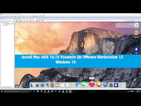How to Install Mac OS X Yosemite 10.10 On VMware Workstation 11 on Windows PC | FunnyCat.TV