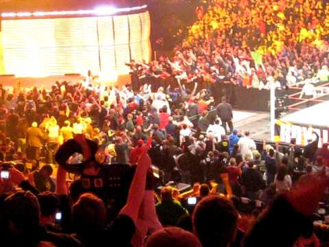 Booker T returns to WWE Royal Rumble 2011
