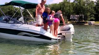 Swimming at Lake Cayuga, NY 7-2-2012 Part 1.mp4