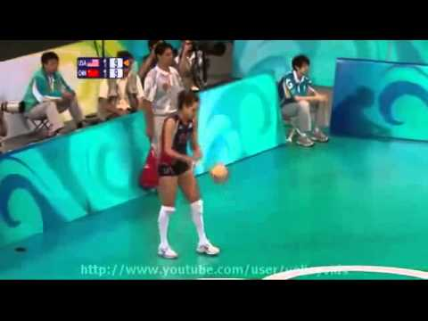 2008 Beijing Olympics Volleyball - USA vs China