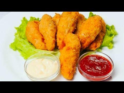 Рецепт наггетсов из курицы в домашних условиях фото рецепт пошаговый