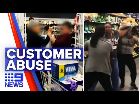 Coronavirus: Help available for frontline workers on customer abuse | 9 News Australia