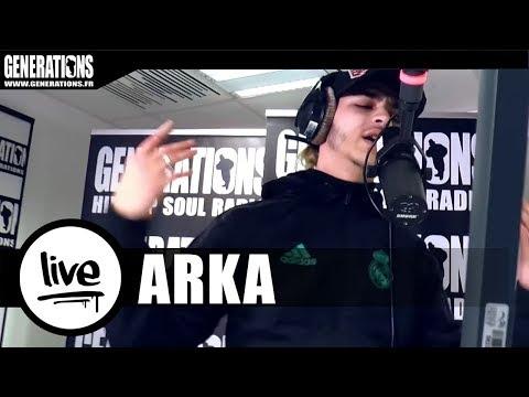 Youtube: Arka – Freestyle«Crime Arnaque et Botanique» (Live des studios de Generations)