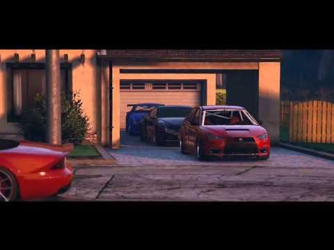 GTA 5 - АвтоСходка Форсаж #2