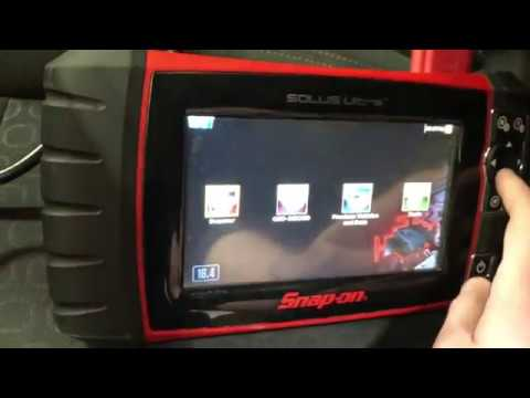 Snap-on TPMS4 Relearn for Chevrolet Trax with Solus Ultra Scan Tool