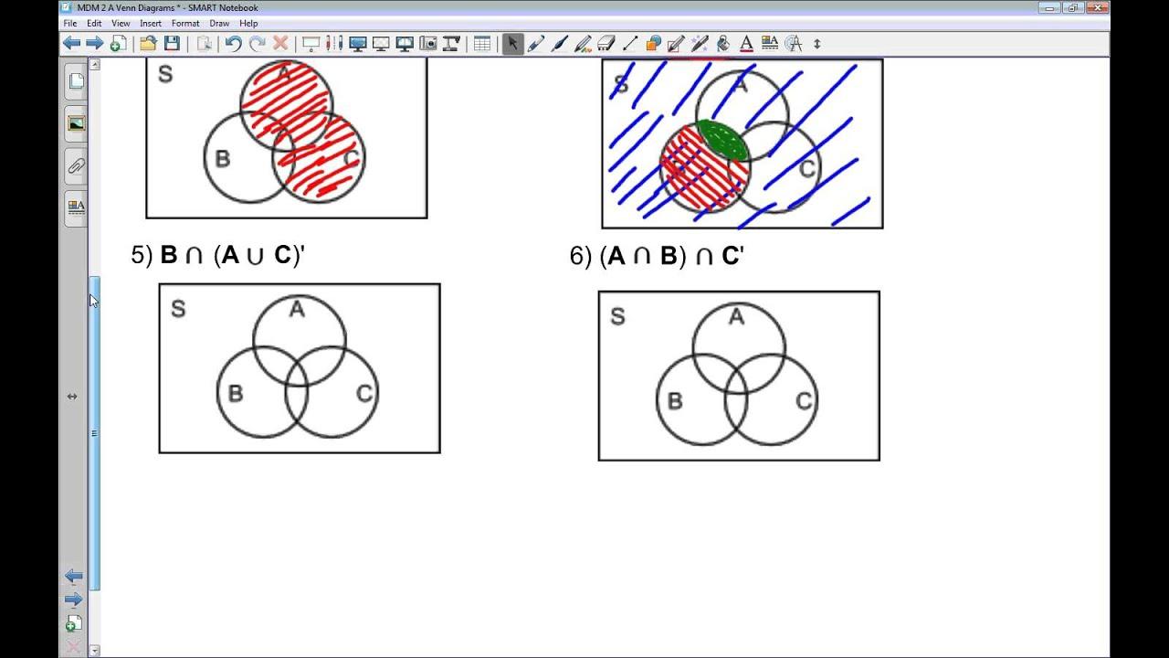 Mdm4u 12 13 a venn diagrams youtube mdm4u 12 13 a venn diagrams pooptronica Choice Image