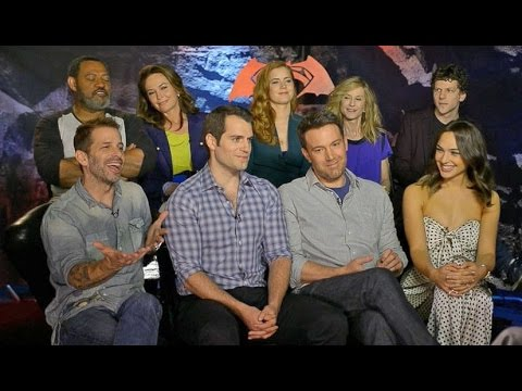 'Batman V Superman' | Full Cast Checks In On 'GMA'