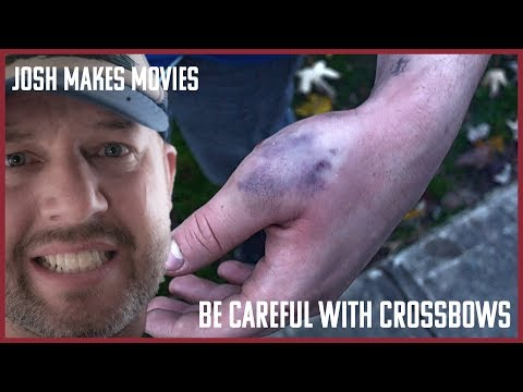 Be Careful With Crossbows,  Michigan Deer Hunting 2018