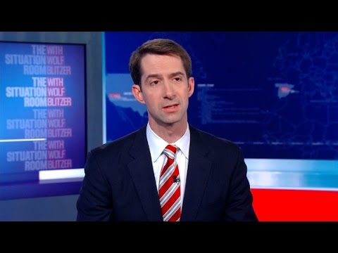 Sen. Tom Cotton: Trump ready to make tough decisions