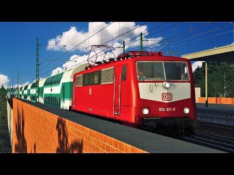 Let's Play Train Simulator 2018 | BR 111 Regionalexpress nach Celle | Hamburg - Hannover
